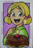 Birthday Greeting Card by dreamsaddict