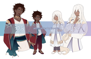 AUCTION: ADOPTABLES 05 and 06 [CLOSED] by izu-min