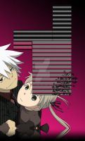 Soul and Maka , BG! by Yoe-Chan