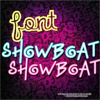 Font ShowBoat by AboutFlawless