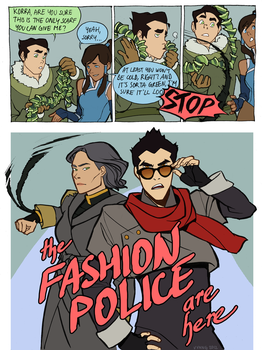 actual fashion cop mako by Doodle-Master