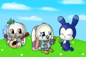 CM: Bunnies by POOPYINACTIVEACCOUNT
