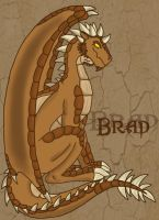 Dragon!Brad- Colored by Lost-in-Legends