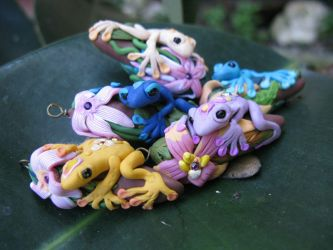 Magical Frogs by masaste
