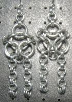 Chainmaille Earring 39 by Des804
