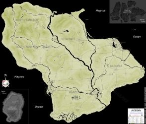 Grand Theft Auto: New Madrid Map by NewCanadaCartography