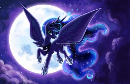 Mare in the Moon by briannacherrygarcia