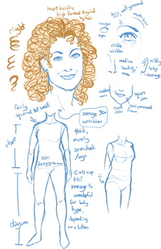 River Song Sketches by TemBrook