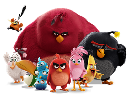 Angry Birds Movie Flock by Jeremiekent13