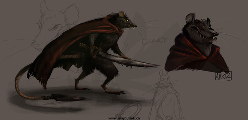 Cluny the Scourge by weremagnus
