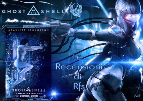 Locandina Ghost in the Shell by Sinphie