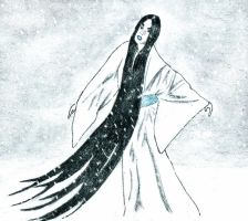 Yuki-onna by ARTificialphanTOM