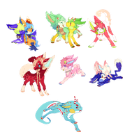 .:Itty Bitty Babbies:. by Pietastic-Creations
