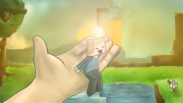 Minecraft Wallpaper: Transition by officialbartoke