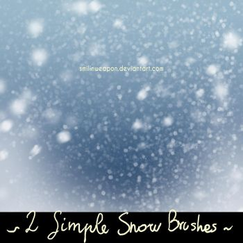Smilinweapon Snow Brushes by smilinweapon