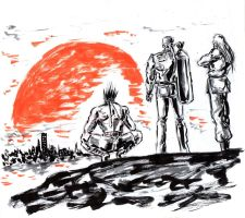 The Lone Wolves of Southtown by Horoko