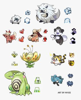SOME BETA POKEMON FROM GEN2 DEMO by Nyjee