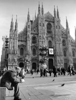 Cathedral of Milan by multix