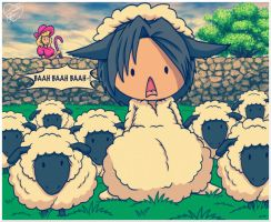 One of those Sheep is...Different by Jessica-Rae-3