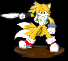 model tails with blade by zhenghwang