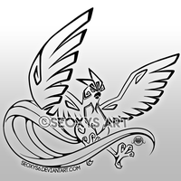 Tribal Articuno by Seoxys6