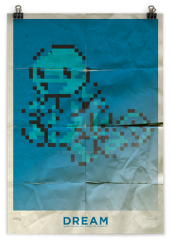 Pixel Poster - Dream by sfriis