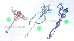 Weapon Adoption 01 CLOSED by Forged-Artifacts