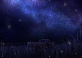 Under the Stars by VioletRaine