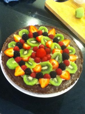 Fruit tart by xXxBheithirxXx