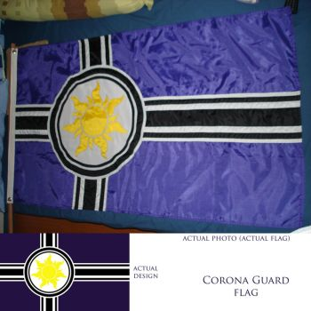 Tangled: Corona Guards' flag by frans97