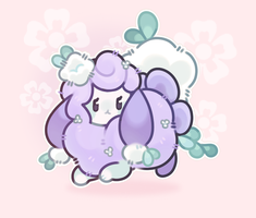 puffball bun by plushpon