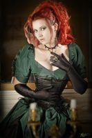 Green Lady by MADmoiselleMeli