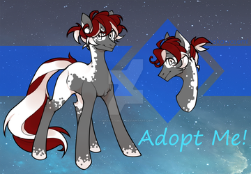 [CLOSED] Speckled Pony Adopt by InkyNotebook