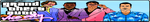 Grand Theft Auto Vice City Fan Button by ZER0GEO