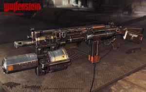 Assault Rifle 1960 with rocket launcher by panick