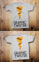 Flat T-shirt MockUp by graphictwister