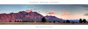 The Flatirons - Boulder, CO by imucus