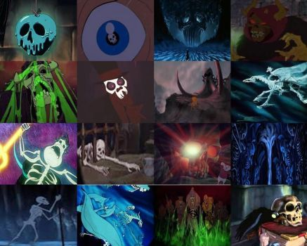 Disney Skulls and Skeletons in Movies Part 1 by dramamasks22