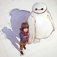 Big Hero 6 by SimomarK