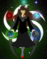 Witch of Space by Izzydactyl