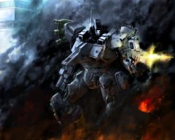 ARMORED CORE -part.2 by mozy-ryzel