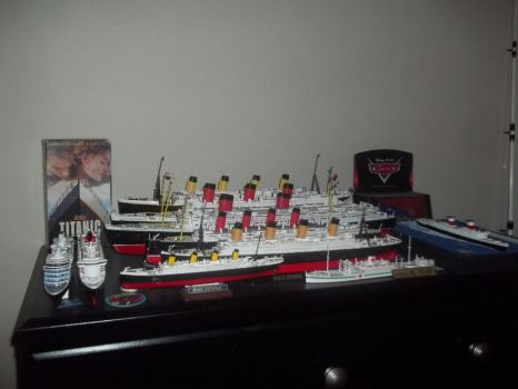 Model ship collection by carsdude