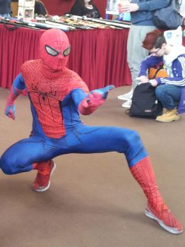 AMAZING SPIDERMAN COSPLAY FULL SUIT! by johnnykoru