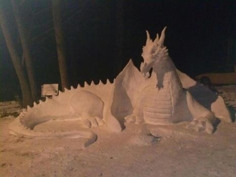 Snow Dragon by bschaff89