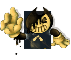 Bendy and the ink machine by maskarie