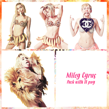 Miley Cyrus Pack PNG #4 by maarcopngs