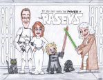 Star Wars cartoon portrait The Raseys by artbylukeski
