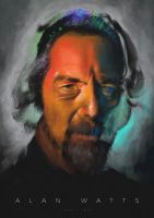 Alan Watts by mickehill