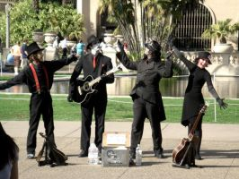 Steam Powered Giraffe by Kaichaser