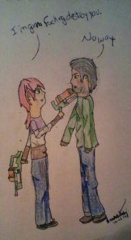 Last of Us- Water Guns by Lily-the-Vocaloid